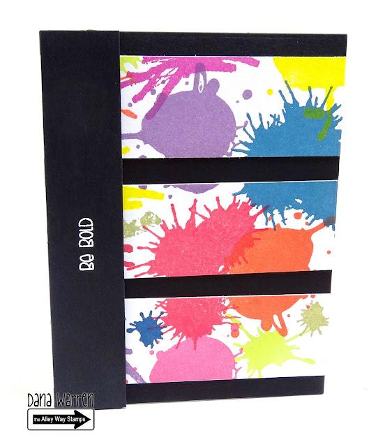 Dana Warren - Kraft Paper Stamps - The Alley Way Stamps