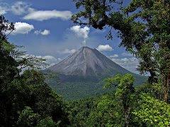 Montañas en Costa Rica