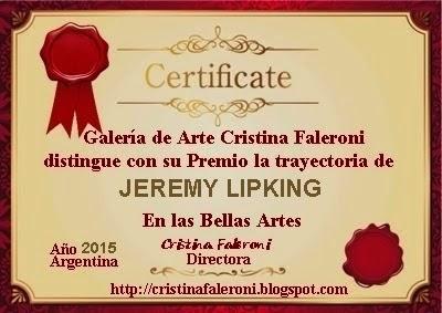 Jeremy Lipking. Galardonado
