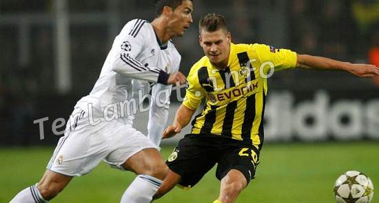 Real Madrid VS Borussia Dortmund 7 November 2012