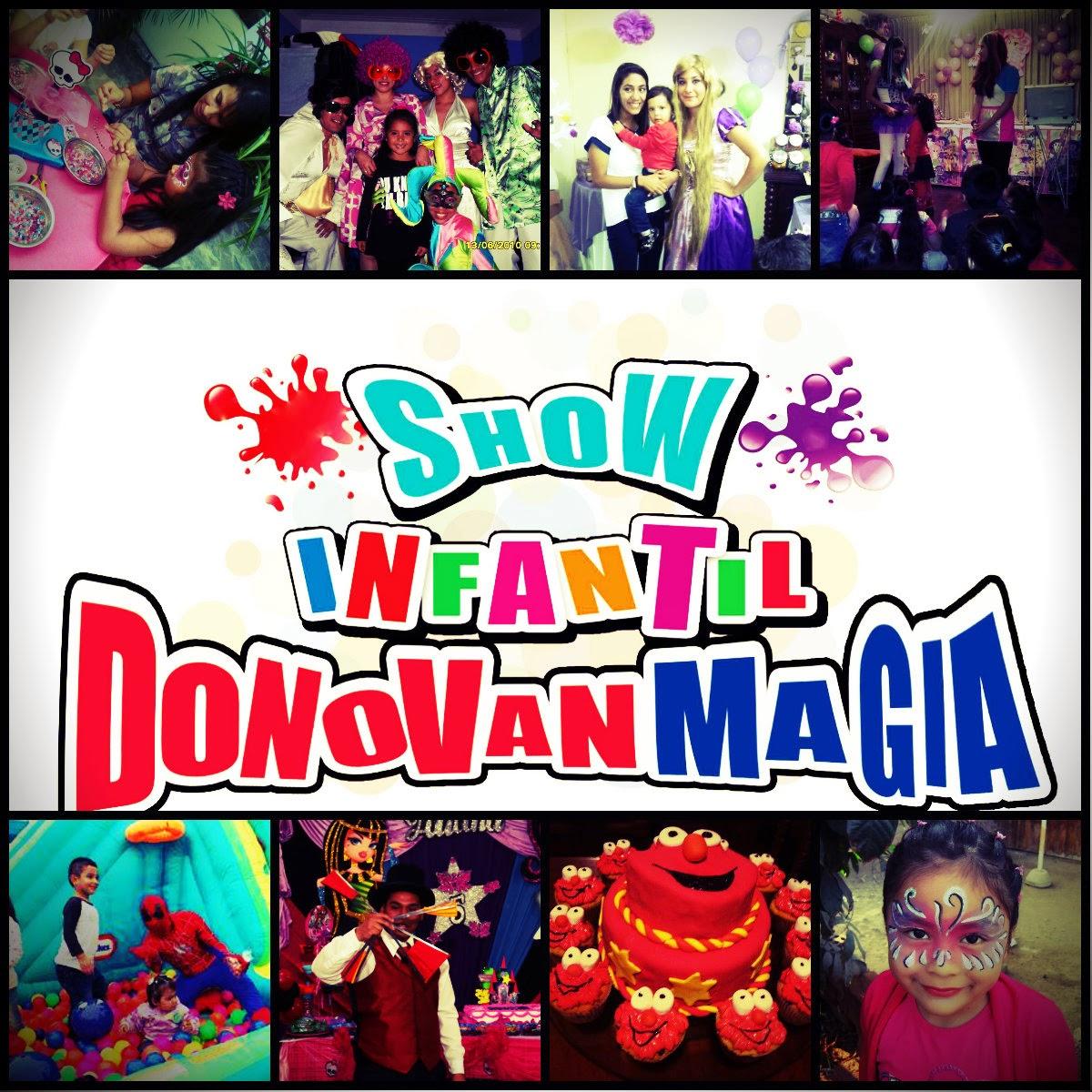 Show infantil donovanmagia