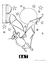 Animal Alphabet B Bat