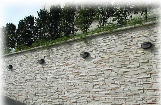 Arte y jardiner a superficies verticales materiales para el jard n - Revestimientos de muros exteriores ...