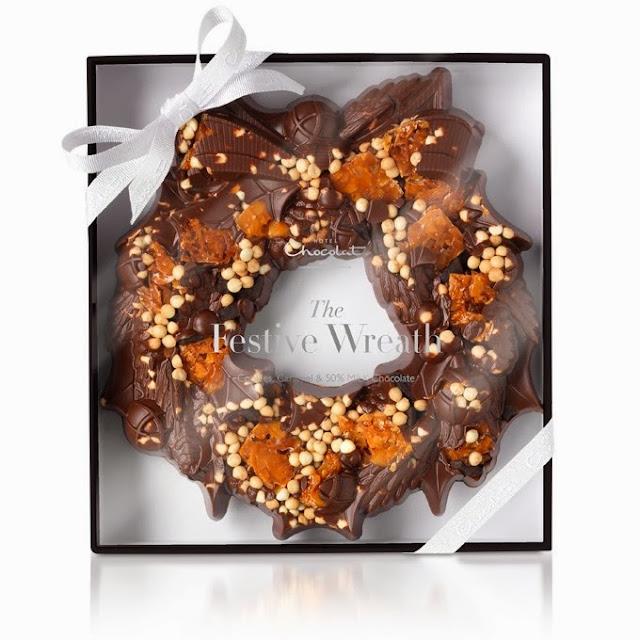 Giveaway: Hotel Chocolat Festive Wreath