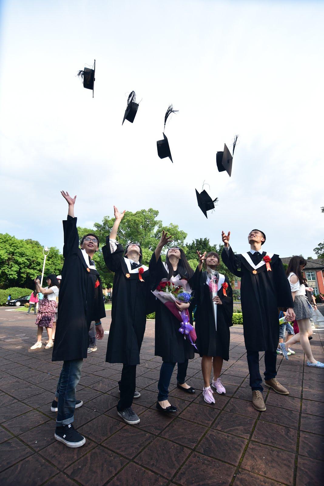 恭喜大家! 畢業快樂!
