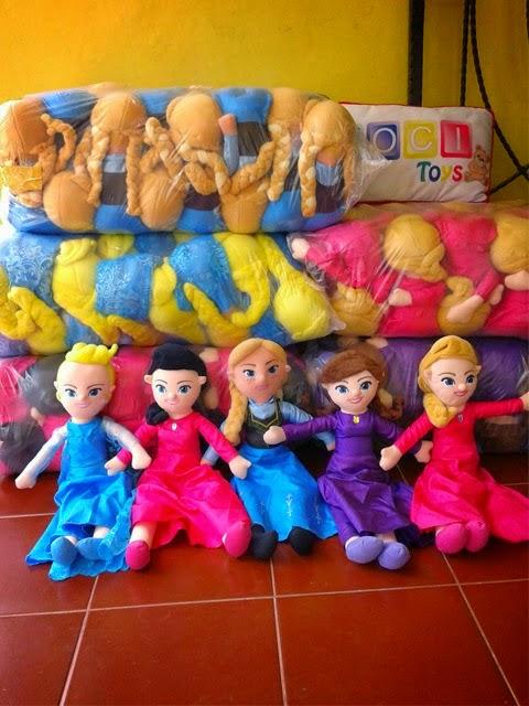 Boneka Frozen Anna & Elsa