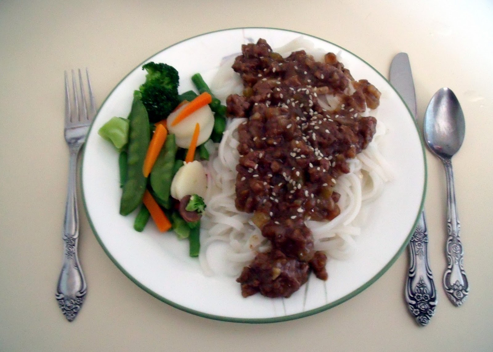 recipe: ginger ground beef [5]