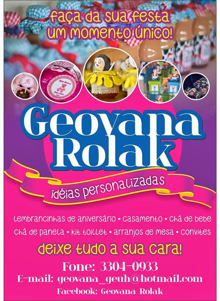 Geovana Rolak Ideias Personalizadas