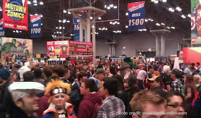 New York Comic Con, Capes on Film, superheroes