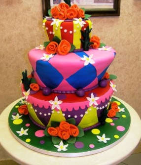 Colorful Carlos Bakery Cakes
