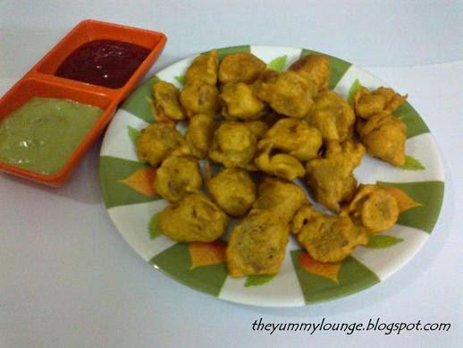 Nutrela Soya Chunks Pakora Fritters Recipe