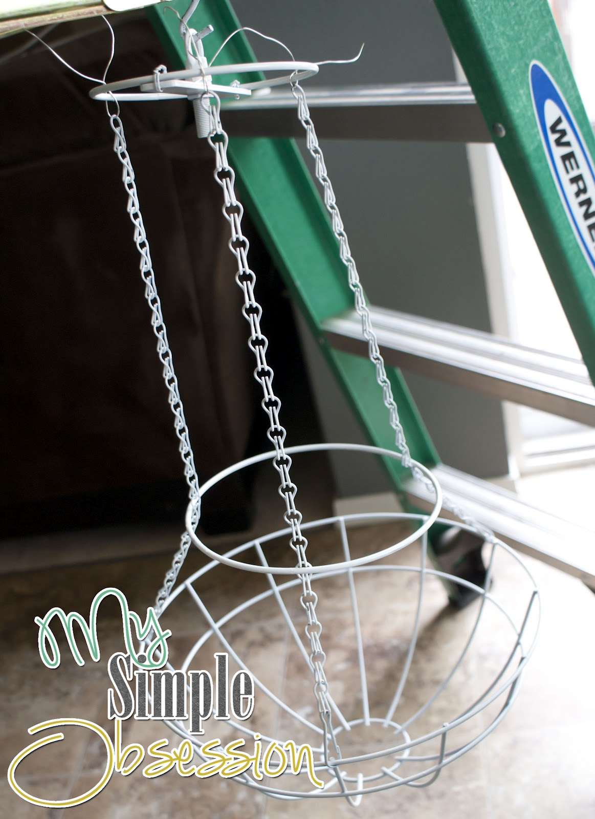 My simple obsession beaded chandelier tutorial arubaitofo Gallery