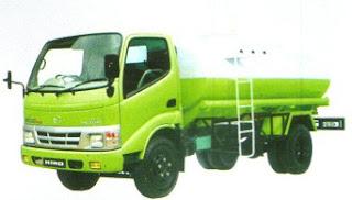 Hino DUtro 110 LD truk tangki