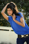 Sneha Tagore Photo shoot in Blue-thumbnail-8