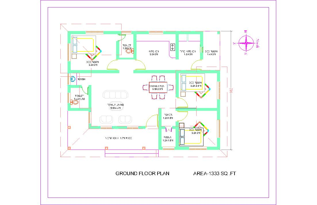 Kerala Home Plans Small Plan