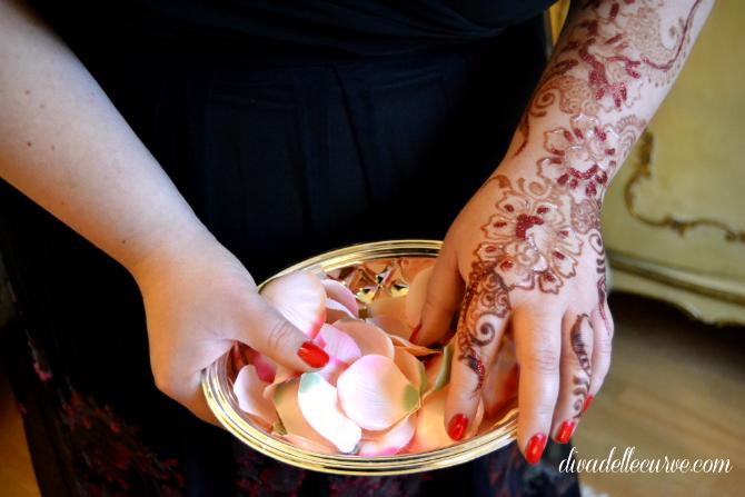 abito plus size da sera lakshmi di igigi con mehndi