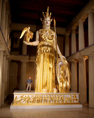 Athena Parthenos by Alan LeQuire, Nashville, Tennessee.