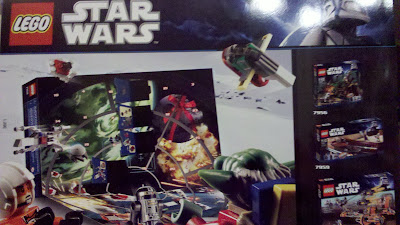 Box Back Star Wars Lego Advent Calendar