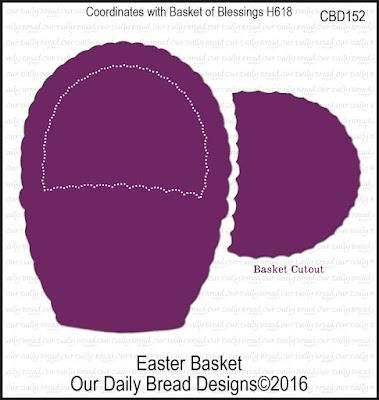 Our Daily Bread Designs Custom Easter Basket Die