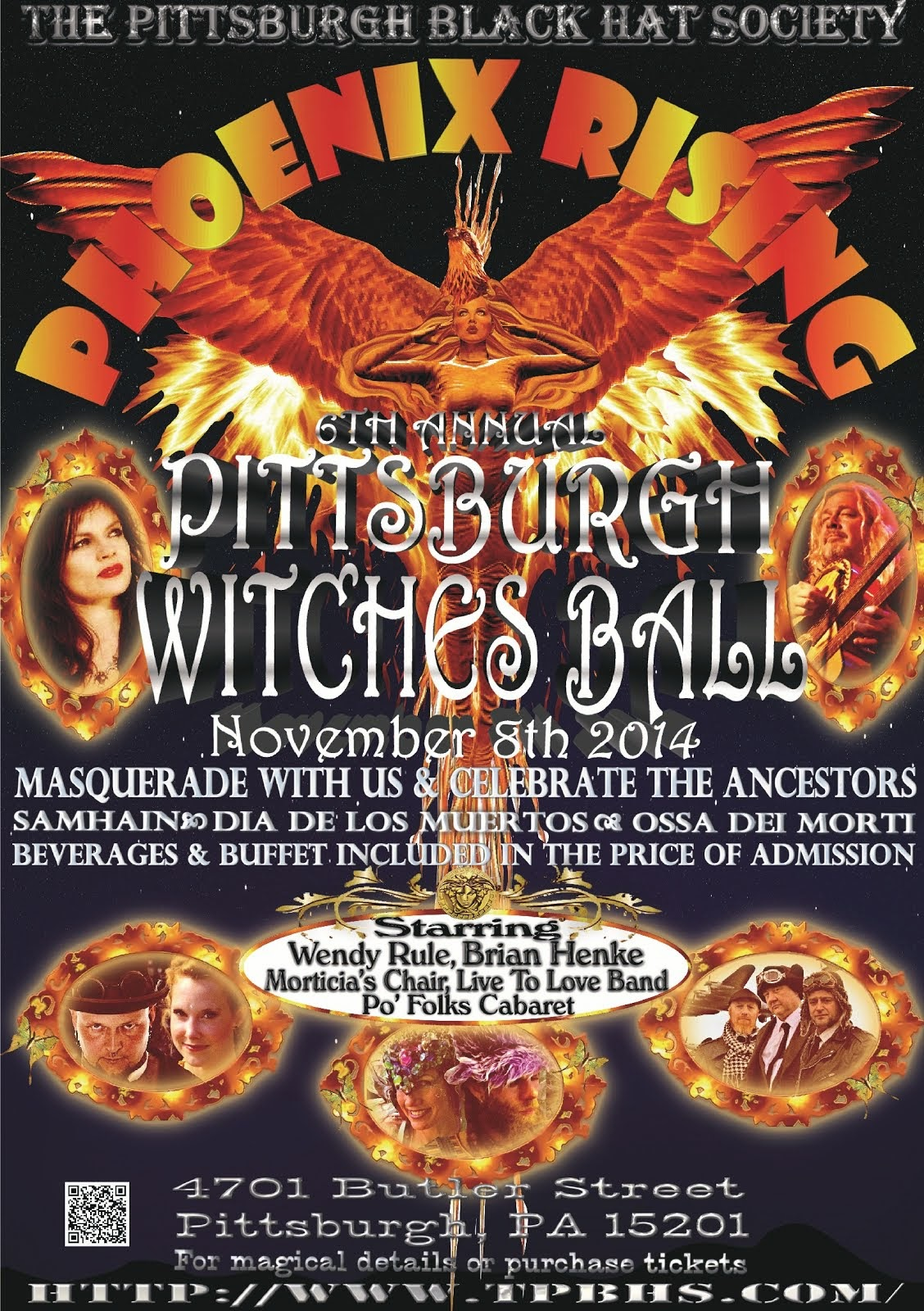 Pittsburgh Witches Ball / TPBHS