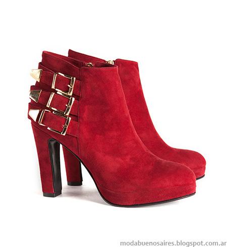 Moda otoño invierno 2014 Zapatos y Botas colección Clara. Botas otoño invierno 2014.