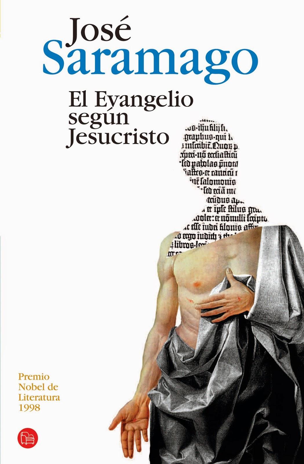 Portada de la novela El evangelio según Jesucristo