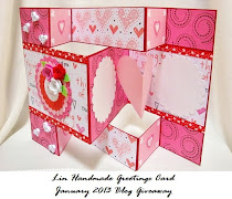 Lin Handmade greeting Giveaway