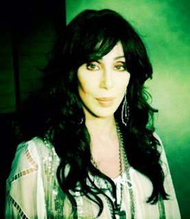 A photo of Cher that she recently uploaded to Twitter