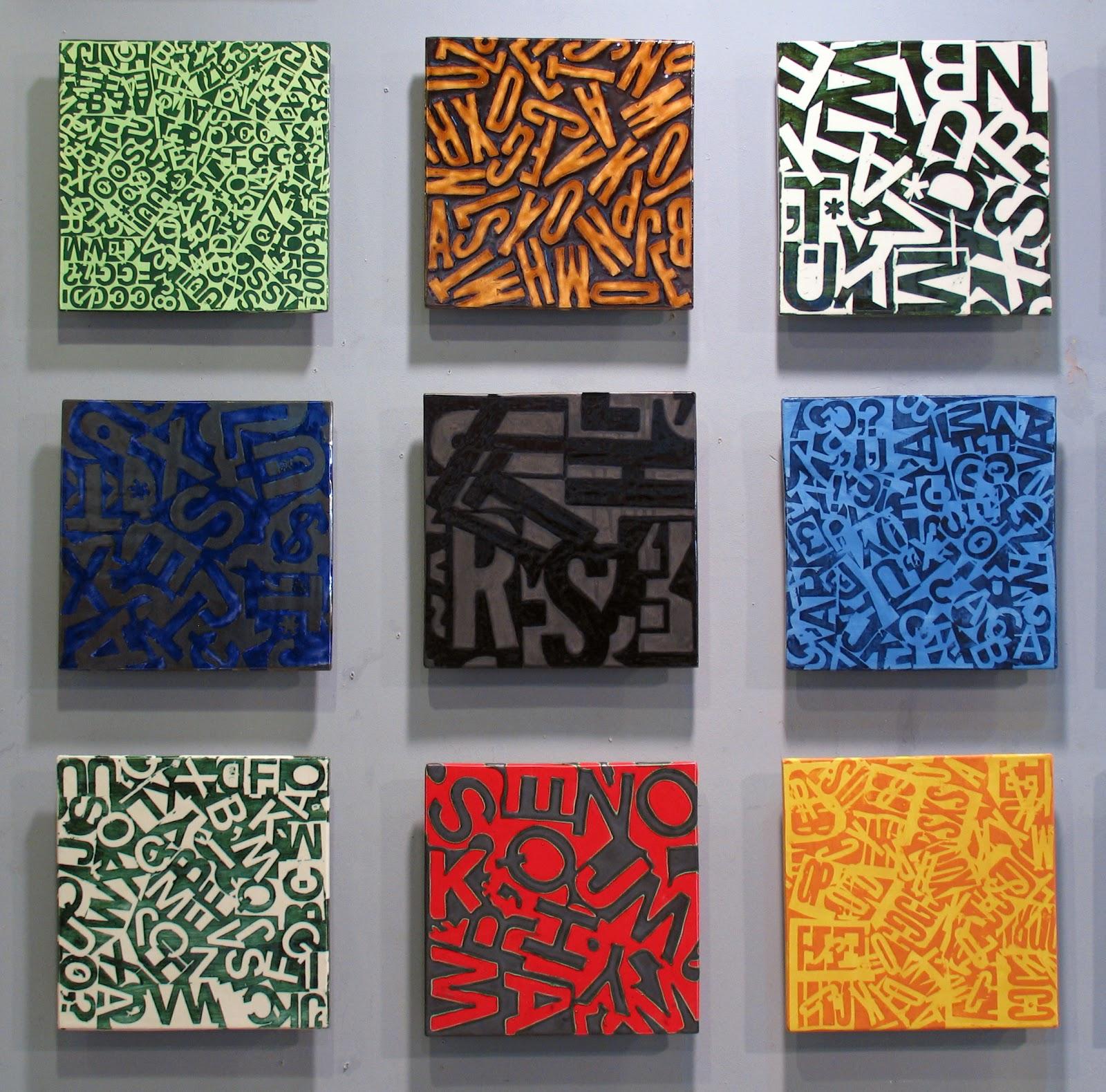 Ceramic tile letters choice image tile flooring design ideas decals for ceramic tiles doublecrazyfo Gallery