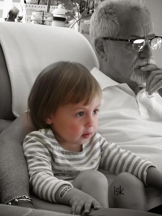 Miss V & her Papa...