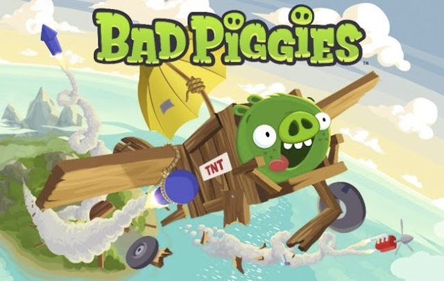 Bad Piggies un juego para moviles recomendado