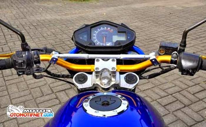 Honda Mega Pro Dimodifikasi Jadi Semakin Garang