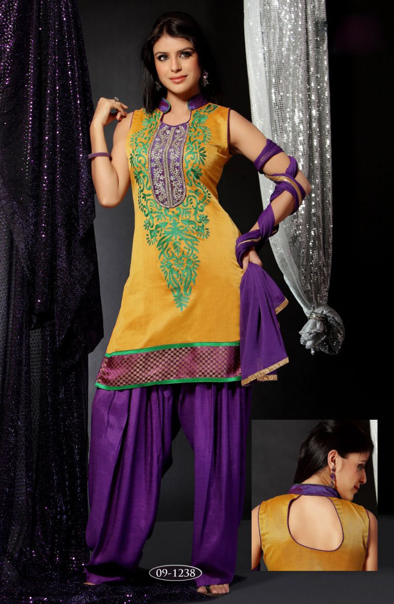 Hairstyle For Long Hair On Salwar Kameez : Hairstyle For Long Hair On Salwar Kameez
