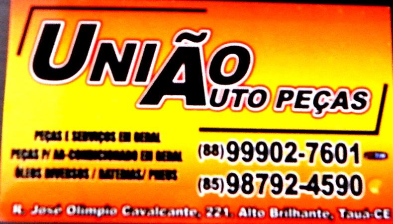 União Auto Peças - Tauá-CE. (88) 99902-7601 ou (85) 98792-4590.
