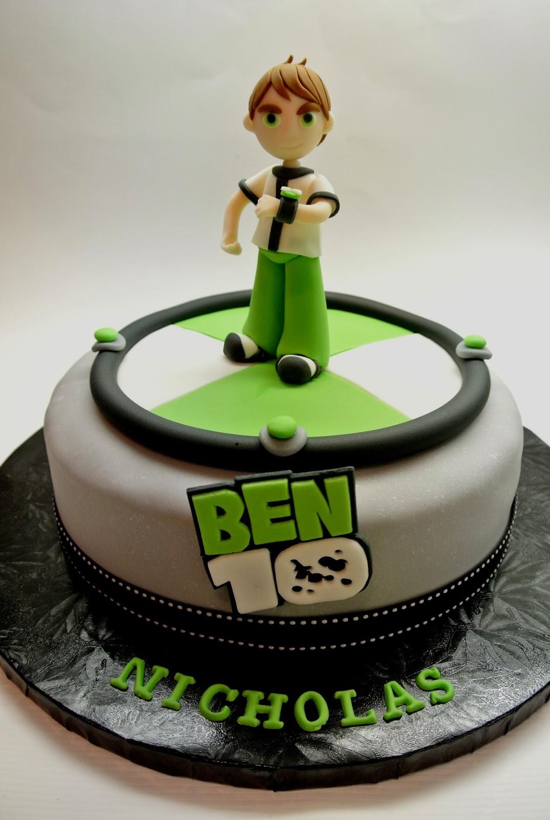 Nicholas Birthday Cake