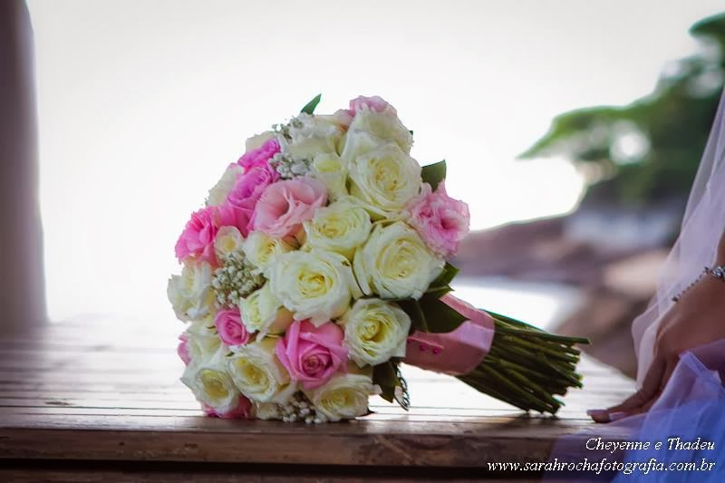 Bouquet de noiva.