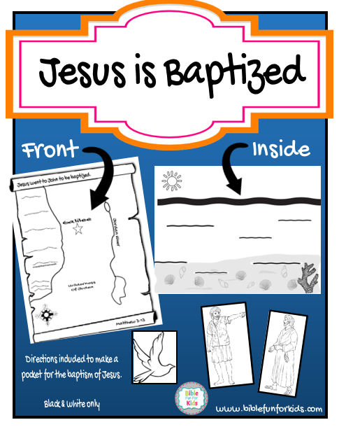 John The Baptist And Jesus For Kids Bible Fun For Kids: Je...
