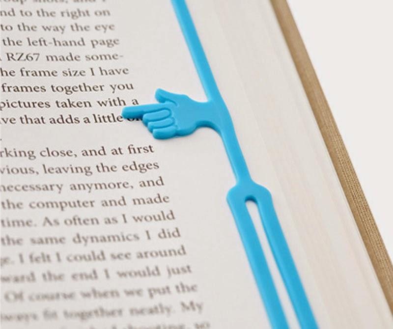Marcapáginas Pointing Finger de 25togo Design