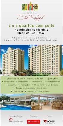 HORTO SÃO RAFAEL - 2 E 3 QUARTOS