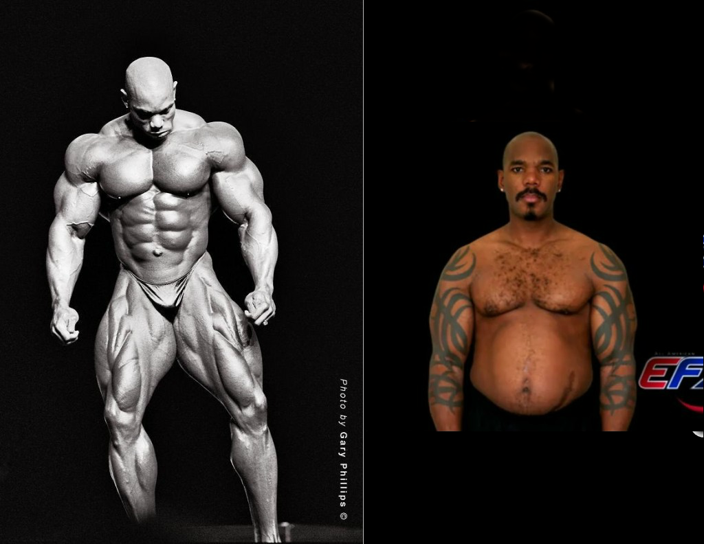 Recall bodybuilders Dorian Yates & Flex Wheeler? See them