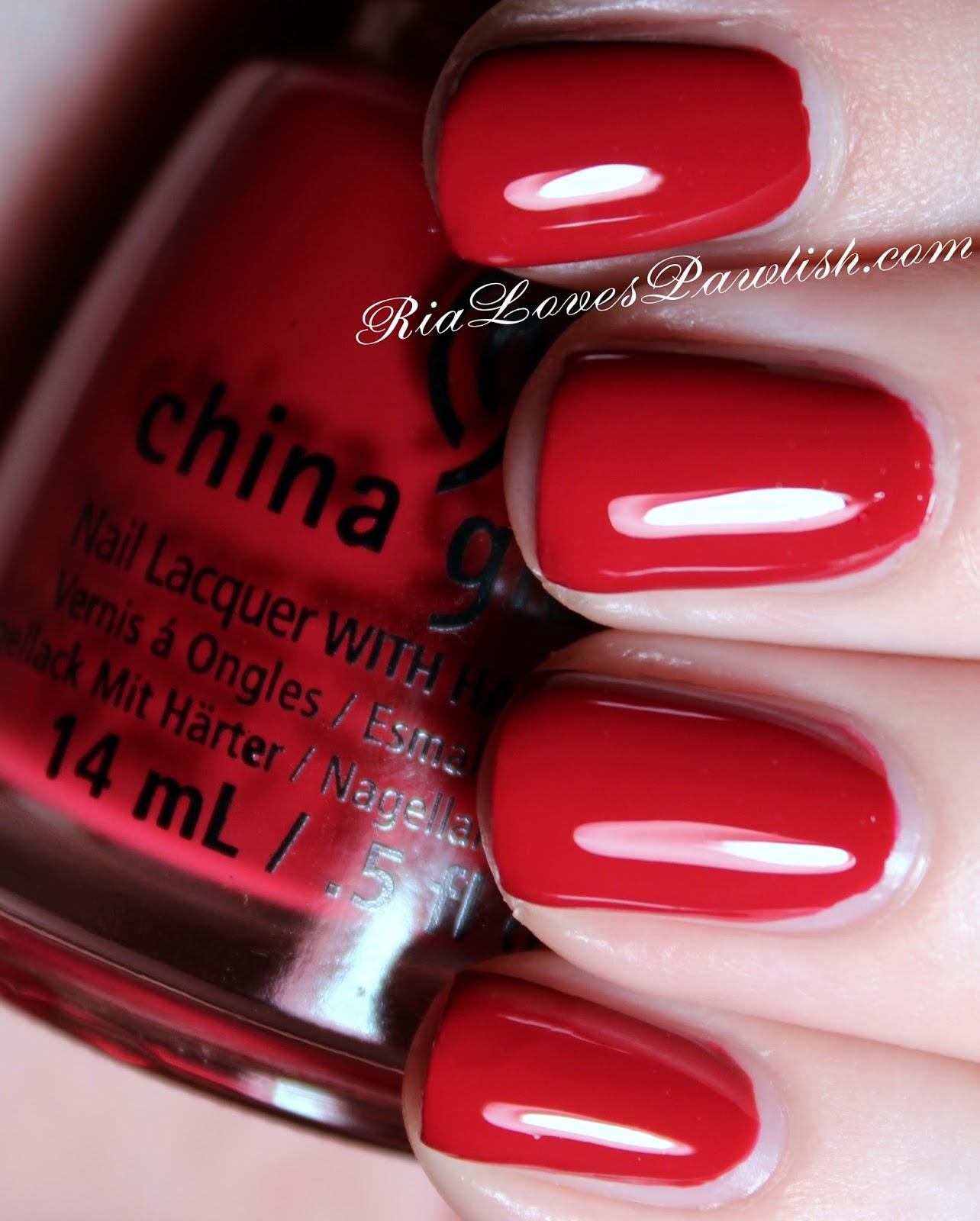 Ria Loves Pawlish: China Glaze Twinkle... Tip Your Hat
