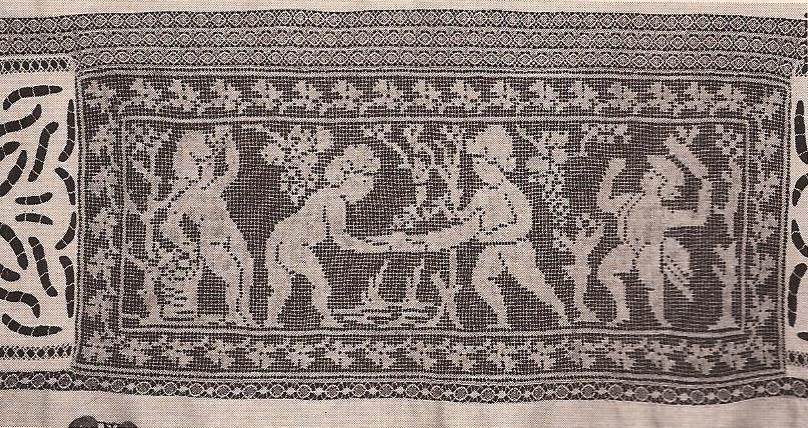 "Panel Decorativo ""La Vendimia"" a Crochet"