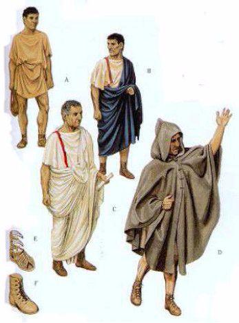 Ropa romanos