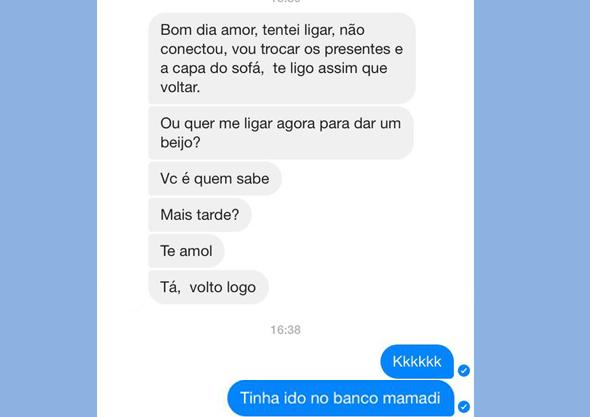mamadi amor saudade falta conversa msg texto