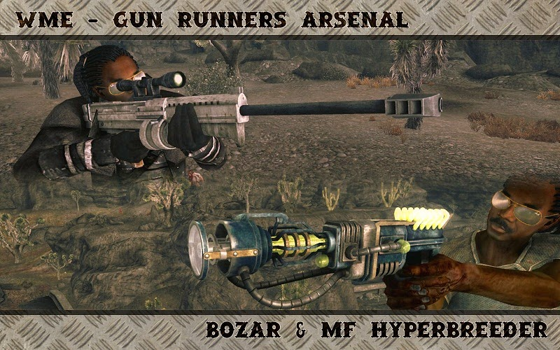 Fallout: New Vegas Most Popular Weapon mods