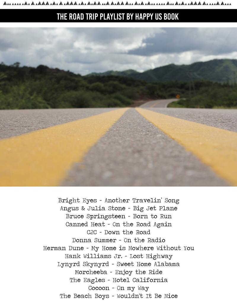 playlist roadtrip voiture liste musique route