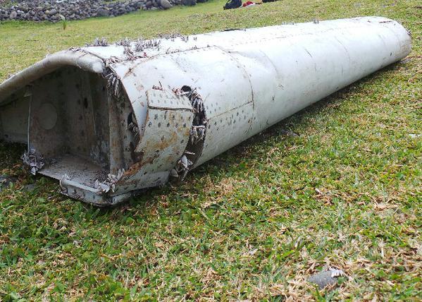 DITEMUI TERDAMPAR DI PULAU MADAGASCAR DIDAKWA DARI PESAWAT MH370