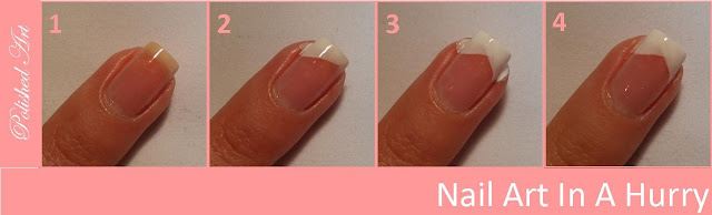 Nail-Art-in-a-Hurry-2-French-Twist-step-by-step-tutorial