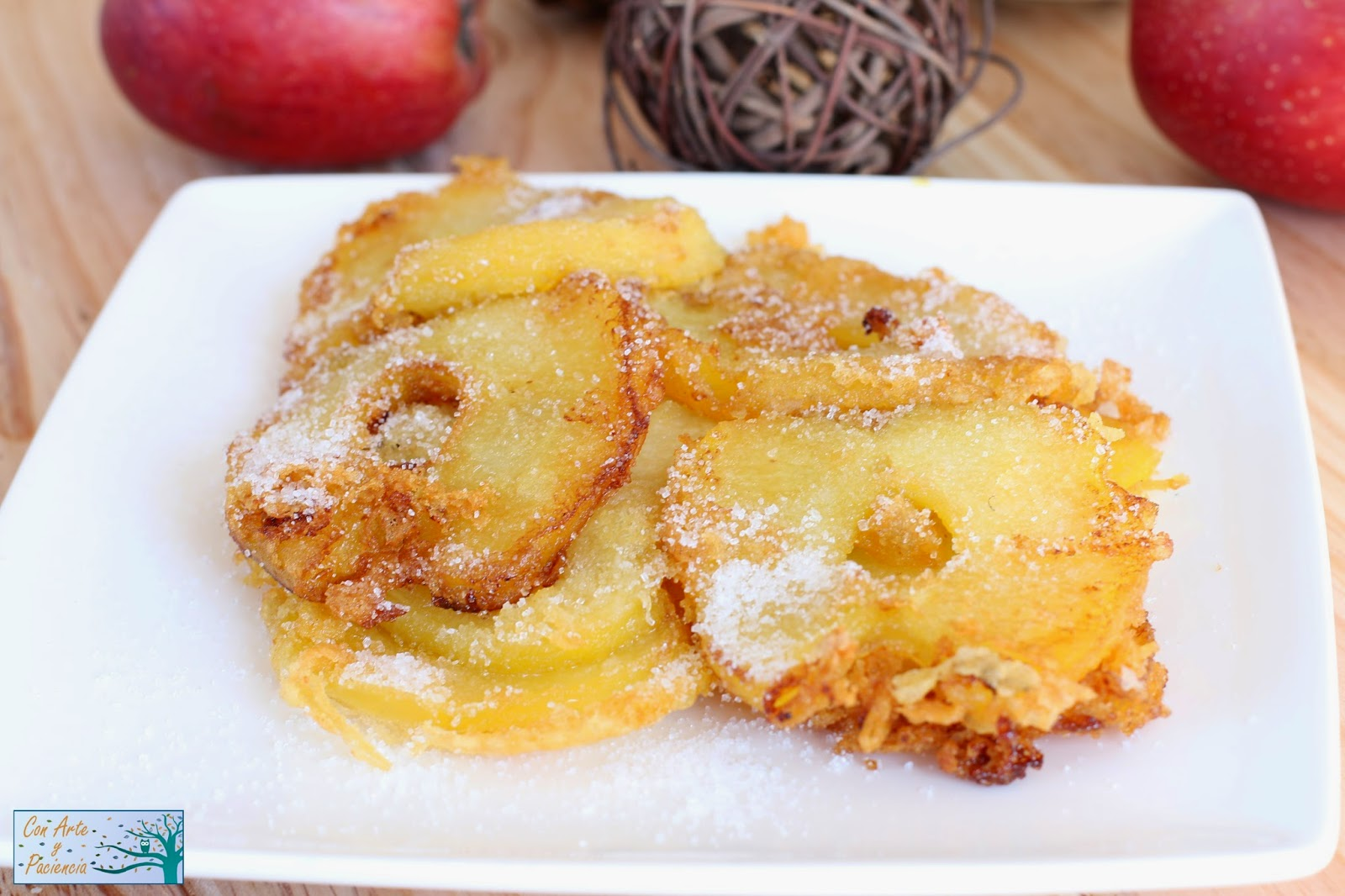manzana,manzanas,tenaciones,facil,easy,receta,recipe,sweet,postre,apple,frita,fried,azucar,sugar,postre,dulce,aceite,oil,