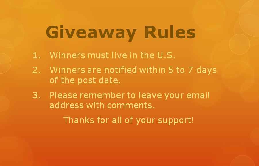 KBN Giveaway Rules